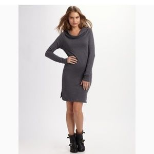 James Perse Cowl Neck Sweater Dress Tag Size 2 (M)